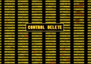 Control Delete